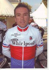 CYCLISME carte cycliste MARTIN MARES champion de tchéquie (coups de pédales)