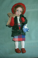 1986 Danbury Mint Norman Rockwell MIMI DOLL' missing dolly'