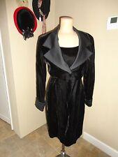 Alex Evenings Women's 2PC Cocktail Velvet Dress and Lapel Empire Jacket Sz 6