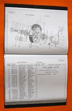 BIMOTA SB3 SUZUKI /PARTS LISTS/DRAWINGS/PART NUMBERS ETC COPY FOR OWNERS/RESTORE