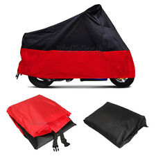 XL Sport Bike Red Motorcycle Cover For Honda CB 250 450 650 700 750 Nighthawk