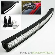 "54"" Curved 312W Off Road Combo Beam LED Driving Light Bar Jeep/4x4/UTV/Truck/4WD"