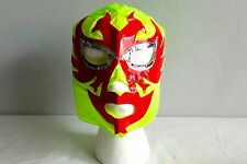 DOS CARAS Green KIDS MASK NEW Lucha Libre Pro Wrestling Mexico wwe