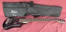 HOFNER HCT-SH-BK SHORTY TRAVEL Electric Guitar BLACK with Gig Bag