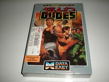 Bad Dudes game for Commodore 64 & 128 by Data East. New. Factory sealed box.