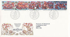 19 JULY 1988 SPANISH ARMADA ROYAL MAIL FIRST DAY COVER PLYMOUTH SHS (b)