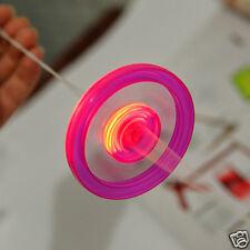 1Pc Kids Playing Gyro Flywheel Glow In Dark Luminous With Pull Line Toys 7*7cm