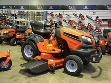 AS NEW Husqvarna 30hp Ride On Lawnmower, 52in Deck, DIFF LOCK, RRP $7299 New!