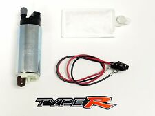 GENUINE WALBRO 255LPH RACING FUEL PUMP FOR HONDA ACURA + FREE EMBLEM