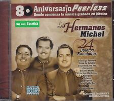 Los Hermanos Michel 24 Boleros Rancheros CD New Nuevo Sealed