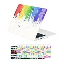 "Paint Splash Matte Case+ 2 Keyboard Skins for MacBook Pro 13"" Retina A1425&A1502"