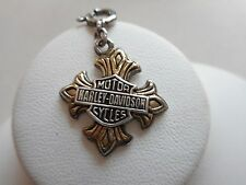 2004 Authentic Harley Davidson Sterling Silver GF Charm or Pendant RE51