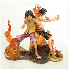 One Piece Anime Brotherhood Portgas.D.ACE/Luffy Statue New with original box