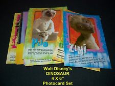 Walt Disney's DINOSAUR    Complete Set      Photo Cards