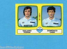 PANINI CALCIATORI 1985/86 -FIGURINA n.474- FIORINI+CASO - LAZIO -Rec