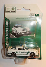 MAJORETTE 3 INCHES COFFRET POLICE DUBAI FORD MUSTANG SUPER CARS BLISTER BOX