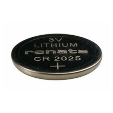 #CR2025 Renata Lithium Watch Batteries - Strip of 5