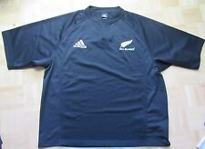ALL BLACKS RUGBY New Zealand home jersey by ADIDAS  2005 /men/ black/ XXL/2XL