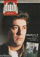 DWB Issue 125 Doctor Who Magazine News Reviews Interviews Tele-Snaps Merchandise
