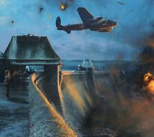 ROBERT TAYLOR Dambusters - Last Moments of Möhne Dam COLLECTORS EDITION SOLD OUT
