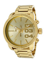 New Diesel DZ4268 Franchise Gold Tone Stainless Steel Chronograph Men's Watch