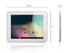 "TABLET PC ANDROID AMPE 8"" A86 WIFI -USB 3G- 1GB RAM 16GB RK3066 DUAL CORE BIANCO"