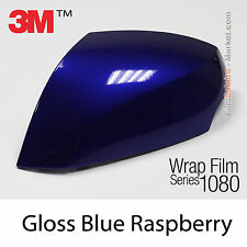 20x30cm FILM Gloss Blue Raspberry 3M 1080 G378 Vinyle COVERING Series Wrapping