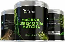 Uvernal Organic Ceremonial Matcha USDA Organic Green Tea Powder 2 oz Sealed $35