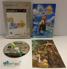 Console Gioco Game SONY Playstation 2 PS2 PAL TEDESCO FINAL FANTASY X 10 Square
