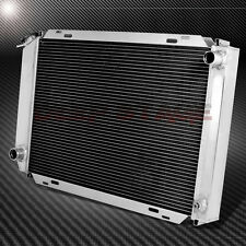 3/THREE ROW/CORE MT/MANUAL FULL ALUMINUM RADIATOR+CAP FOR 79-93 FORD MUSTANG MT