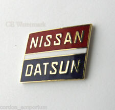 NISSAN DATSUN AUTOMOBILE CAR LOGO LAPEL PIN BADGE 1 INCH