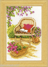 Vervaco  0003721  Fauteuil de Jardin  Broderie  Point de Croix  Compté - 8x12 cm