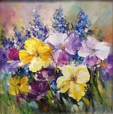 H870269  NO Frame  Hand painted Oil Canvas Wall Art Home Decor Flower
