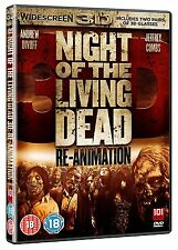 NIGHT OF THE LIVING DEAD RE-ANIMATION  3D DVD   NEW/SEALED   ZOMBIES