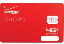 VERIZON UNLIMITED BUSINESS DATA 4G LTE XLTE Sim for WIFI Hotspot, Monthly LEASE