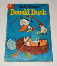 DONALD DUCK #47-1956-FISHING COVER