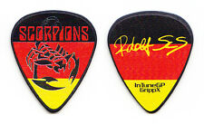 Scorpions Rudolf Schenker Signature Scorpion German Flag Guitar Pick - 2016 Tour