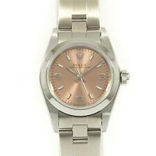 Authentic ROLEX 76080 Oyster Perpetual SS Automatic  #260-001-798-5659