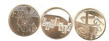Lot de 3 pièces argent 5 Euros 2013 Liberté Egalité Fraternité