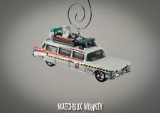 Custom Made 1/64 Ghostbusters II ECTO-1A Christmas Ornament '59 Cadillac Adorno