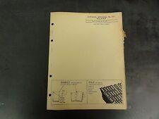 John Deere Killefer No. 10 Integral Ditcher Parts Catalog  PC-360