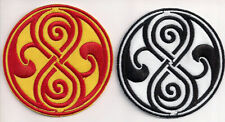 """Seal of Rassilon/Time Lords 3.5"""" Embroidered Patch Set- FREE S&H (DWPA-RASS-Set)"""