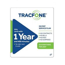 TracFone $99.99 Refill -- 400 Minutes/365 Days, Loaded To Phone Directly