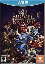 WII U SHOVEL KNIGHT BRAND NEW VIDEO GAME