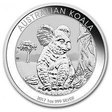 Silbermünze Australian Koala 2017 1 Unze 999 Silber silver coin 1Oz Oz NEU