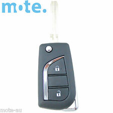 Toyota Corolla Remote Car Flip Key Blank 2 Button Shell/Case/Enclosure