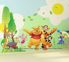 Grand Winnie the Pooh arbres hugging Tiger Wall Stickers pépinière bébé Enfants Décoration