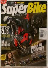 SUPER BIKE Magazine KAWASAKI Z1000 BMW S1000R BAJA Honour COLIN Edwards $11