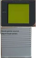 Replacement Play it loud Dark Screen  & Gray Battery Cover for Gameboy Original