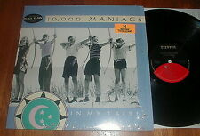 "10,000 MANIACS Orig 1987 ""In My Tribe"" LP SHRINK w Peace Train STICKER NM-"